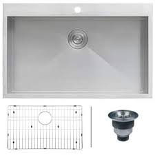 Drop in Kitchen Sinks For Less Overstock
