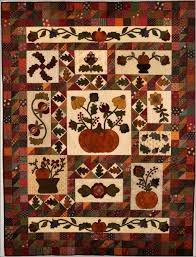 123 best Block of the Month Quilts images on Pinterest | Home ... & Fall Frolic--Block of the month · Autumn QuiltsQuilt Patterns FreeHalloween  ... Adamdwight.com