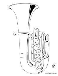 Tuba Coloring Page We Have Selected