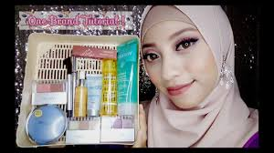 one brand makeup tutorial wardah