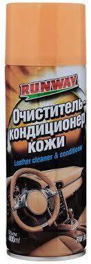 <b>Очиститель и кондиционер</b> кожи 400мл аэрозоль - купить по ...