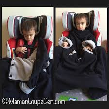7 am enfant easy cover winter car seat solution maman loup s den