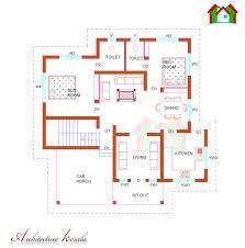 SQUARE FEET SINGLE STORIED HOUSE PLAN   ARCHITECTURE KERALA SQUARE FEET SINGLE STORIED HOUSE PLAN