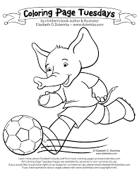 Small Picture dulemba Coloring Page Tuesday Soccer Futbol