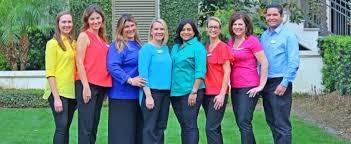 group photo of the rainbow pediatrics team of providers