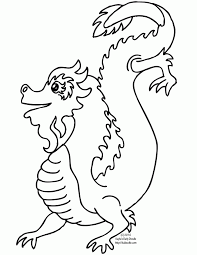 Small Picture Chinese New Year Dragon Coloring Page Coloring Home