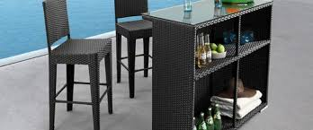 Reviewing The Best Outdoor Bar Stools  Outdoor BarOutdoor Wicker Bar Furniture