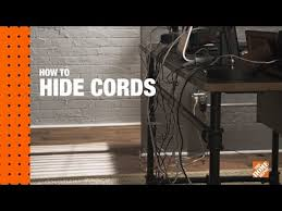 how to hide wires the home depot