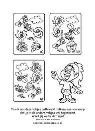 Kleurplaat Dieren Zoeken Spelletjes
