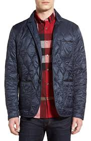 Men's Quilted, Puffer & Down Jackets | Nordstrom & Burberry Gillington Water Resistant Quilted Jacket Adamdwight.com