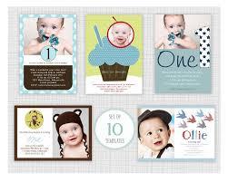 10 Psd Boys Birthday Party Invitation Templates Mini Pack 8