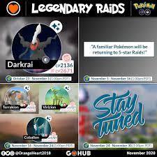 November Events in Pokémon GO (2020)