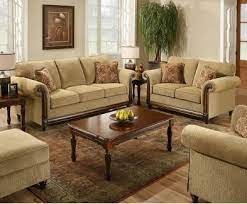 beige fabric sofa loveseat set w