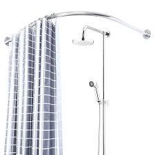 curved shower rail for corner bath corner shower curtain rod rail shower curtain rods punch free curved shower rail for corner