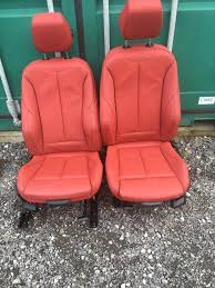 bmw 3 series f30 m sport red leather seats