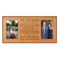 personalized 20th anniversary gift for by dayspringmilestones 30th anniversary gifts for pas 20th wedding anniversary