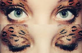 how to make leopard print eye makeup mugeek vidalondon eye makeup tutorial leopard print makeup by