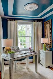 photos hgtv transitional blue home office with painted ceiling minimalist interior design interior design alluring person home office design