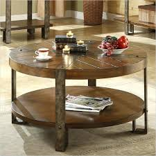 round reclaimed wood coffee tables marvelous rustic round coffee table reclaimed wood coffee tables