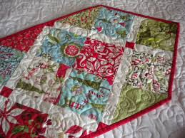 Quick and Easy Ideas for Table Runners | Quilt table runners ... & Christmas Table Runner Adamdwight.com