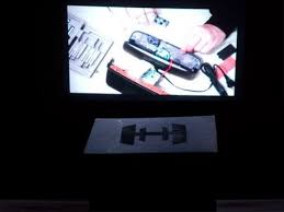 3 box projector household er