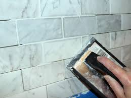 apply grout