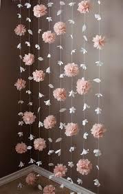Paper Flower Garland Paper Flower Garland Buscar Con Google Paper Flower