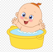 infant bathing drawing baby shower clip art infant bathing drawing baby shower clip art