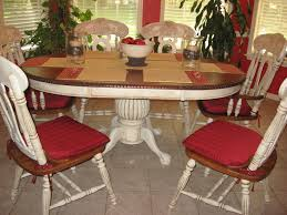 Distressed My Dining Room Table And Chairs With Annie Sloan Pure