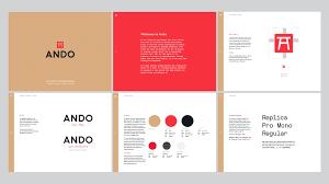 Logo Designer San Francisco Ando By Character In San Francisco Brand Manual Brand
