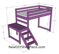 diy loft beds for kids. Unique Loft Loft Bed Plan Throughout Diy Loft Beds For Kids