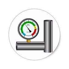 gas manometer. gas manometer stickers