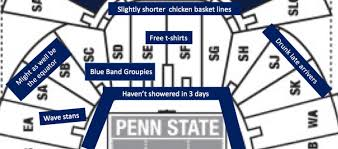 Freshman 101 How To Pick Your Seat In Beaver Stadium