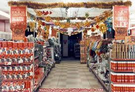 The Magical Christmas Decorations Shop - part of the Woolworth offer in  1984 (Image: