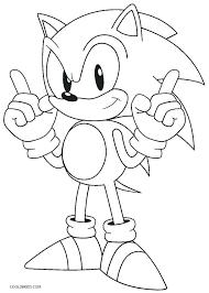 Free Sonic Coloring Pages Sonic Coloring Pages Printable Sonic