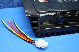 rockford fosgate punch amplifier pin speaker wire harness plug rockford fosgate punch amplifier 6 pin speaker wire harness plug 45hd 75hd 150hd