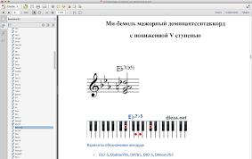Аппликатуры аккордов для фортепиано shop dieza net online store  eb7b5
