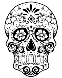 Adult Coloring Pages Skulls 2 2 Coloring Crafts Pinterest
