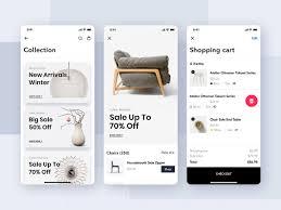 Furniture Design App Furniture Shop Mobile App Ui Concept Search By Muzli