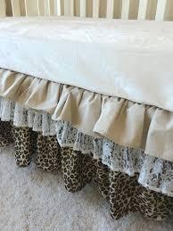 crib skirts baby girl bedding sets