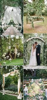 29 my dream garden wedding ideas