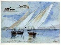 لوحات فنية عن نهر النيل