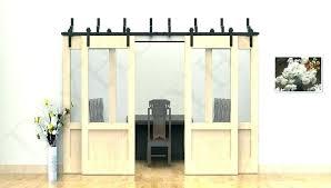 barn door with glass panels s 6 panel sliding half