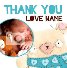 Baby Boy Thank You Cards All Thank You Cards Funky Pigeon