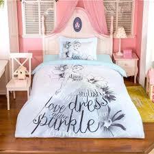 Teenage Girl White Bedroom Furniture Little Sets Cartoon Princess ...