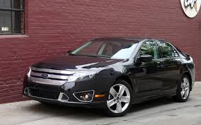 2011 Ford Fusion Color Chart 2010 Ford Fusion Sport First Drive And Review Motor Trend