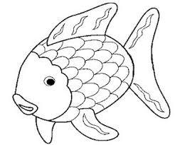 Pesce Daprile Disegni Da Colorare Per Bambini