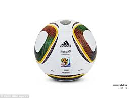 ball in a cup. jubulani: the official ball from south africa world cup in 2010 name means a