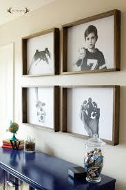 group of engineer prints with wood frames diy wall art five marigolds  on diy wall art using picture frames with group of engineer prints with wood frames diy wall art five