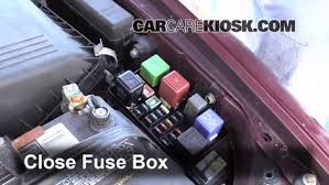 blown fuse check 1992 1996 toyota camry 1996 toyota camry le 2 2 6 replace cover secure the cover and test component